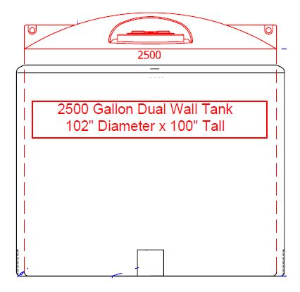 Double Wall Tank provides Secondary Containment